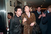 TIM NOBLE; ASSIA WEBSTER, Book launch party for the paperback of Nicky Haslam's book 'Sheer Opulence', at The Westbury Hotel. London. 21 April 2010