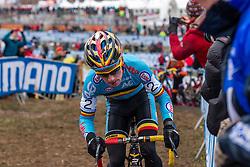 Eli Iserbyt (BEL), Men Juniors, Cyclo-cross World Championship Tabor, Czech Republic, 31 January 2015, Photo by Pim Nijland / PelotonPhotos.com