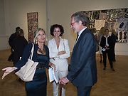 MILLY GLIMCHER; MOLLY DENT-BROCKLEHURST; ARNE GLIMCHER, Jean Dubuffet, Theatres de Memoire, Pace Gallerty. London. 12 September 2017