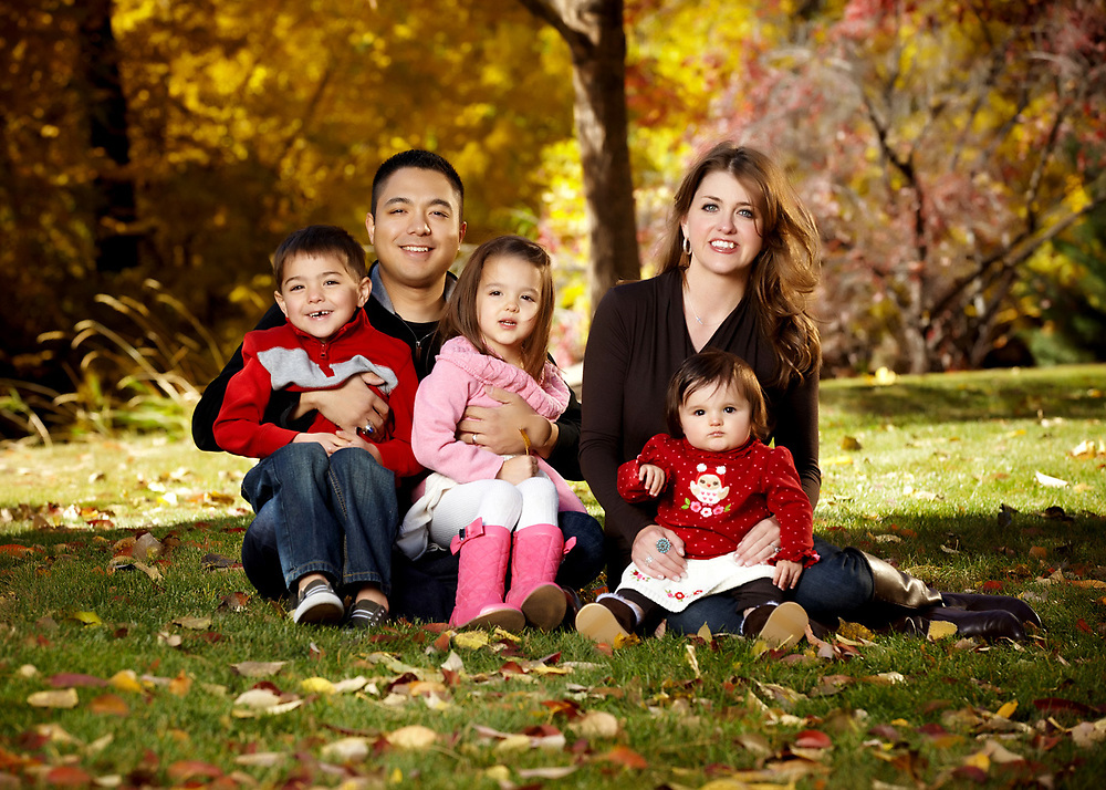 Family photo by Aspen Photo and Design