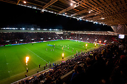 A general view of Ashton Gate stadium as Bristol Bears play Bath Rugby  - Mandatory by-line: Dougie Allward/JMP - 18/10/2019 - RUGBY - Ashton Gate - Bristol, England - Bristol Bears v Bath Rugby - Gallagher Premiership Rugby