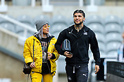 DeAndre Yedlin (#22) of Newcastle United arrives ahead of the Premier League match between Newcastle United and Bournemouth at St. James's Park, Newcastle, England on 9 November 2019.