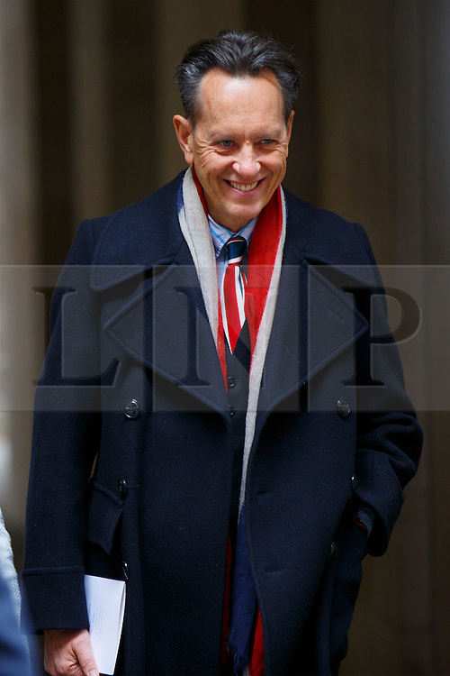 © Licensed to London News Pictures. 05/03/2016. London, UK. RICHARD E. GRANT leaving Rupert Murdoch and Jerry Hall's wedding ceremony at St Bride's Church in Fleet Street, London on Saturday, 5 March 2016. Photo credit: Tolga Akmen/LNP