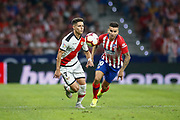 Correa of Atletico de Madrid and Alex Moreno of Rayo Vallecano during the spanish league, La Liga, football match between Atletico de Madrid and Rayo Vallecano on August 25, 2018 at Wanda Metropolitano stadium in Madrid, Spain, Photo Oscar Barroso / SpainProSportsImages / DPPI / ProSportsImages / DPPI