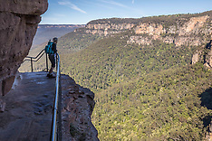National Pass, Wentworth Falls