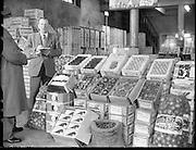 Views of Dublin Corporation Fruit Market.03/02/1959
