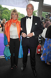 The EARL & COUNTESS OF WESTMORELAND at The Butterfly Ball in aid of the Caudwell Children Charity held in Battersea park, London on 14th May 2009.