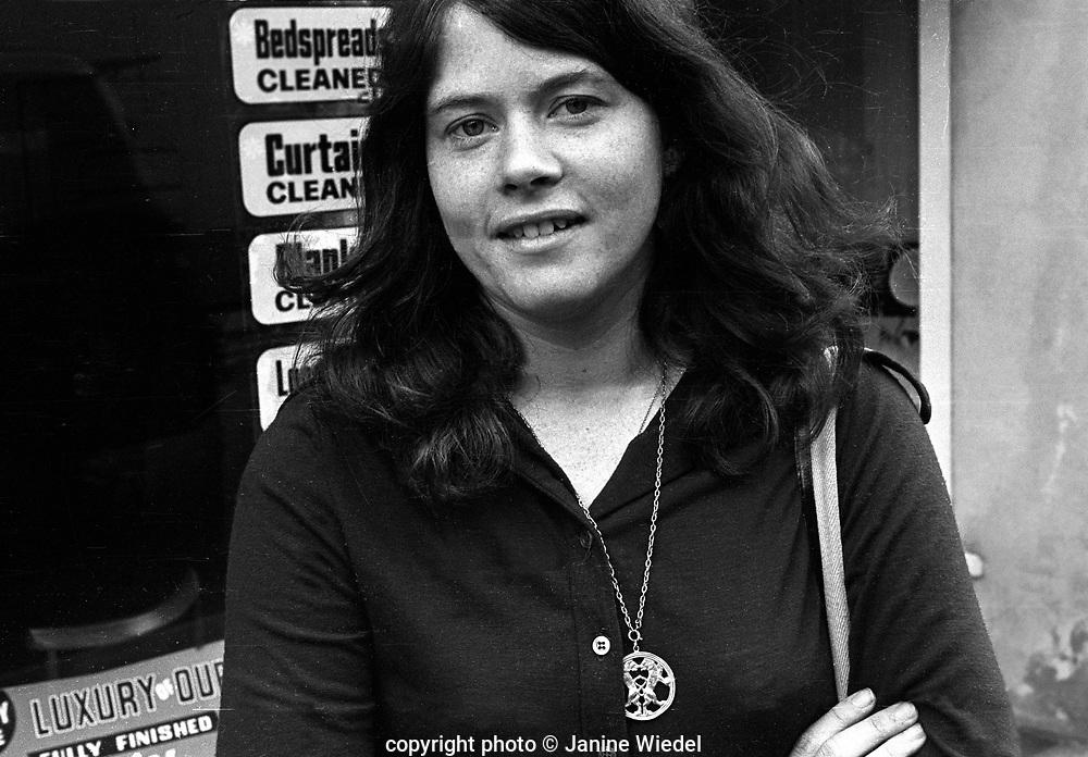 Janine Wiedel 1972