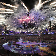 Pic shows the opening of the Paralympic Games in London on August 29th 2012.