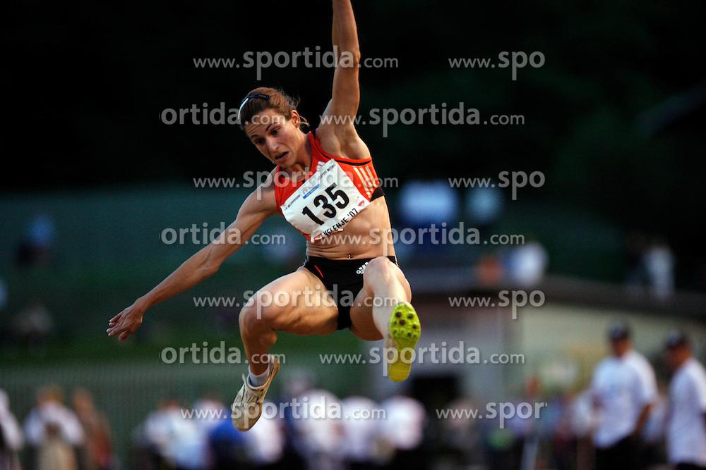 Athlete Marija Sestak at International meeting in Velenje, on June 28, 2007, Ljubljana, Slovenia. (Photo by Vid Ponikvar / Sportal Images)./ Sportida)
