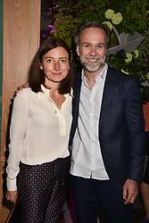 Marcus Wareing and his wife Jane at the 2017 Fortnum & Mason Food & Drink Awards held at Fortnum & Mason, Piccadilly London England. 11 May 2017.<br /> Photo by Dominic O'Neill/SilverHub 0203 174 1069 sales@silverhubmedia.com