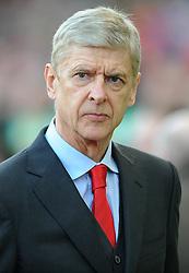 Arsenal Manager, Arsene Wenger - Photo mandatory by-line: Dougie Allward/JMP - Mobile: 07966 386802 - 06/12/2014 - SPORT - Football - Stoke - Britannia Stadium - Stoke City v Arsenal - Barclays Premie League