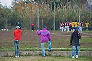Nettuno, Roma 19/12/2015: Partita di calcio del campionato provinciale amatoriale tra Atletico Pop United e la capolista Sezze - Football game of the amateur provincial championship among Athletic Pop United and league leaders Sezze.
