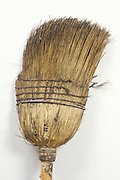 old broom that?s falling apart
