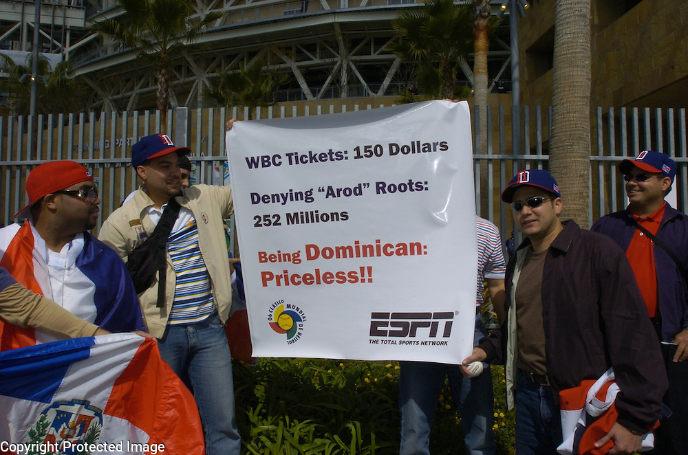 in Semi-Final action of the World Baseball Classic at PETCO Park, San Diego, CA.