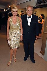 IVANA TRUMP and MASSIMO GARGIA at the Grosvenor House Art & Antiques Fair Gala evening in aid of the UKês oldest childrenês charity CORAM held at the Grosvenor House Hotel, Park Lane, London on 14th June 2007.<br />