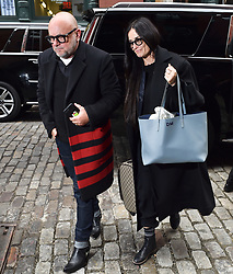 Demi Moore is seen arriving at the Mercer Hotel in New York for the Met Gala. 03 May 2019 Pictured: Demi Moore. Photo credit: Neil Warner/MEGA TheMegaAgency.com +1 888 505 6342