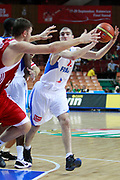 DESCRIZIONE : Katowice Poland Polonia Eurobasket Men 2009 Semifinal 5-8 place Francia France Turchia Turkey <br /> GIOCATORE : Nando De Colo<br /> SQUADRA : Francia France<br /> EVENTO : Eurobasket Men 2009<br /> GARA : Francia France Turchia Turkey <br /> DATA : 19/09/2009 <br /> CATEGORIA :<br /> SPORT : Pallacanestro <br /> AUTORE : Agenzia Ciamillo-Castoria/H.Bellenger<br /> Galleria : Eurobasket Men 2009 <br /> Fotonotizia : Katowice  Poland Polonia Eurobasket Men 2009 Semifinal 5-8 place Francia France Turchia Turkey <br /> Predefinita :
