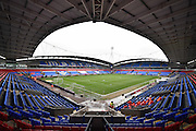 The Bolton Wanderers Pitch before the Sky Bet Championship match between Bolton Wanderers and Reading at the Macron Stadium, Bolton, England on 2 April 2016. Photo by Mark Pollitt.