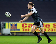 Olly Cracknell of Ospreys<br /> <br /> Photographer Simon King/Replay Images<br /> <br /> Guinness PRO14 Round 11 - Ospreys v Scarlets - Saturday 22nd December 2018 - Liberty Stadium - Swansea<br /> <br /> World Copyright © Replay Images . All rights reserved. info@replayimages.co.uk - http://replayimages.co.uk