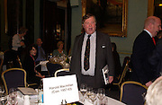 Kenneth Clarke, Political Studies Association Awards 2004. Institute of Directors, Pall Mall. London SW1. 30 November 2004.  ONE TIME USE ONLY - DO NOT ARCHIVE  © Copyright Photograph by Dafydd Jones 66 Stockwell Park Rd. London SW9 0DA Tel 020 7733 0108 www.dafjones.com