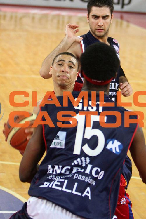 DESCRIZIONE : Roma Lega A1 2007-08 Playoff Quarti di finale Gara 1 Lottomatica Virtus Roma Angelico Biella<br /> GIOCATORE : Ibrahim Jaaber<br /> SQUADRA : Lottomatica Virtus Roma<br /> EVENTO : Campionato Lega A1 2007-2008 <br /> GARA : Lottomatica Virtus Roma Angelico Biella<br /> DATA : 18/05/2009<br /> CATEGORIA : penetrazione<br /> SPORT : Pallacanestro <br /> AUTORE : Agenzia Ciamillo-Castoria/E.Castoria
