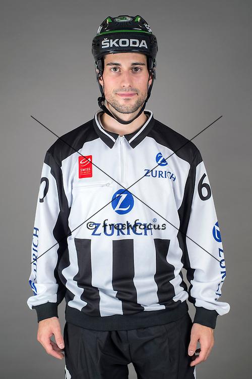 09.08.2015; Magglingen; Eishockey NLA - Schiedsrichter;<br /> Daniel Duarte <br /> (Andy Mueller/freshfocus)