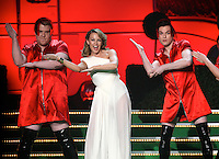 James Corden, Kylie Minogue and Mathew Horne