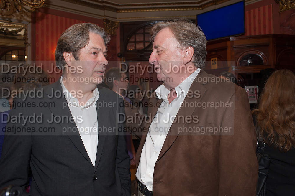 ROGER ALLAM, West End opening of RSC production of Julius Caesar at the Noel Coward Theatre on Saint Martin's Lane. After-party  at Salvador and Amanda, Gt. Newport St. London. 15 August 2012.