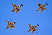 A formation of four IAF F-16I Fighter jet