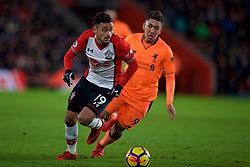SOUTHAMPTON, ENGLAND - Sunday, February 11, 2018: Southampton's Sofiane Boufal during the FA Premier League match between Southampton FC and Liverpool FC at St. Mary's Stadium. (Pic by David Rawcliffe/Propaganda)