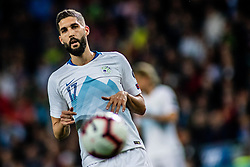 Miha Mevlja of Slovenia during football match between National teams of Slovenia and North Macedonia in Group G of UEFA Euro 2020 qualifications, on March 24, 2019 in SRC Stozice, Ljubljana, Slovenia.  Photo by Matic Ritonja / Sportida