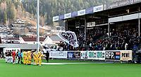 Fotball , 6. april 2019 ,  Eliteserien , Mjøndalen - Bodø/Glimt 4-5<br /> illustrasjon tilbakekomsten i Eliteserien for MIF , stadion , publikum , line-up , lineup