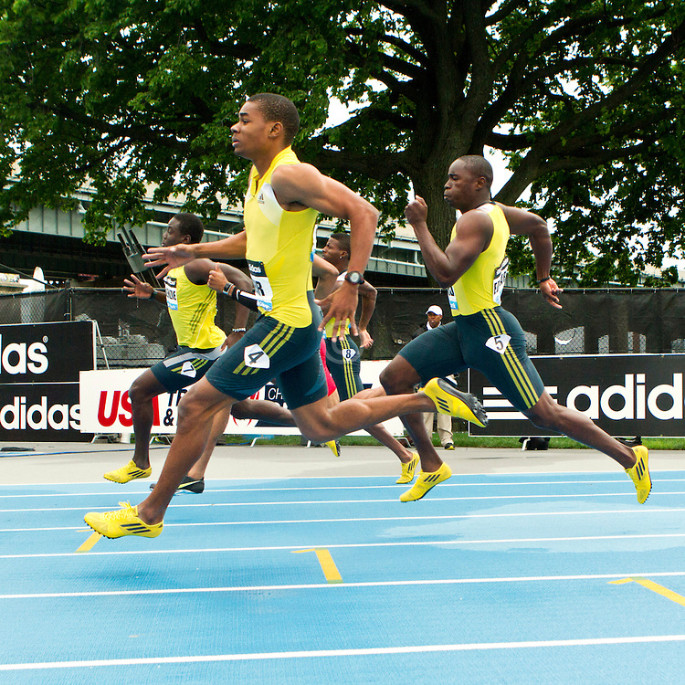 adidas Grand Prix professional track & field meet: mens 200 meters, Warren Weir