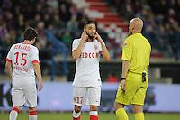 Yannick FERREIRA CARRASCO / Tony CHAPRON  - 10.04.2015 - Caen / Monaco - 32e journee Ligue 1<br />Photo : Vincent Michel / Icon Sport