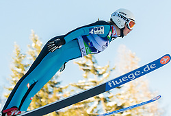 SCHOITSCH Sonja of Austria competes during 11th Women FIS Ski Jumping World Cup competition in Planica replacing Ljubno  on January 25, 2014 at HS95, Planica, Slovenia. Photo by Vid Ponikvar / Sportida