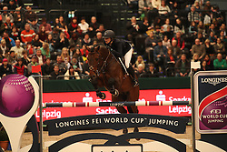 Coulter Audrey, (USA), Capital Colnardo<br /> Longines FEI World Cup<br /> CSIO Leipzig 2016<br /> © Hippo Foto - Stefan Lafrentz