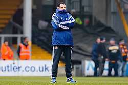 Sunderland Manager, Gus Poyet takes a walk on the pitch ahead of the FA Cup 5th Round tie between Bradford City and Sunderland - Photo mandatory by-line: Matt McNulty/JMP - Mobile: 07966 386802 - 15/02/2015 - SPORT - Football - Bradford - Valley Parade - Bradford City v Sunderland - FA Cup - Fifth Round