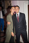 BEN GOLDSMITH; JEMIMA JONES, Sotheby's Frieze week party. New Bond St. London. 15 October 2014.