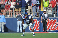 Mississippi Rebels'  Carlton Martin (48) vs. Alabama at Vaught-Hemingway Stadium in Oxford, Miss. on Saturday, October 4, 2014. Ole Miss won 23-17.