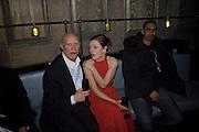 Camilla Rutherford, Dom Perignon and Claudia Schiffer host a celebration of Dom Perignon Oenotheque 1995. The Landau, Portland Place. London W1. 26 February 2008.  *** Local Caption *** -DO NOT ARCHIVE-© Copyright Photograph by Dafydd Jones. 248 Clapham Rd. London SW9 0PZ. Tel 0207 820 0771. www.dafjones.com.