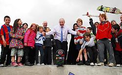 The opening of the Greenway Skatepark in Westport