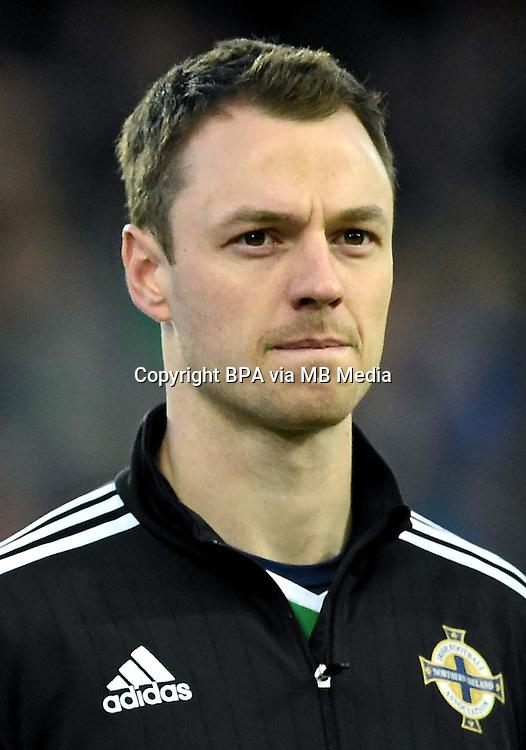 Uefa Euro FRANCE 2016 - <br /> Northern Ireland National Team - <br /> Jonny Evans