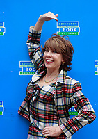 A portrait of Kathy Lette at the Edinburgh International Book Festival 2012 in Charlotte Square Gardens<br /> <br /> Pic by Pako Mera