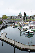Victoria, British Columbia, Canada The inner Harbour British Columbia Parliament Buildings in the background
