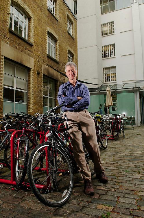 Sustrans' John Grimshaw, London HQ 2009