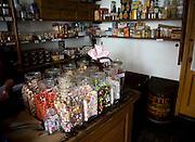 Sweet shop, Zuiderzee museum, Enkhuizen, Netherlands