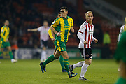 West Bromwich Albion midfielder Gareth Barry (18)  during the EFL Sky Bet Championship match between Sheffield United and West Bromwich Albion at Bramall Lane, Sheffield, England on 14 December 2018.