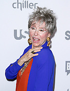 Rita Moreno attends the 2015 NBCUniversal Cable Entertainment Upfront at the Javitz Center North Hall in New York City, New York on May 14, 2015.