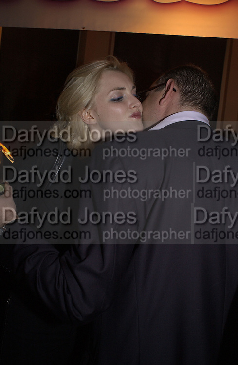 Sophie Dahl and Orlando Fraser. Charity evening organised by Orlando Fraser at Woody's. London. 22 November 2001. © Copyright Photograph by Dafydd Jones 66 Stockwell Park Rd. London SW9 0DA Tel 020 7733 0108 www.dafjones.com